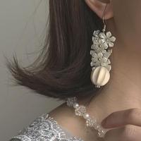flower clear pierce