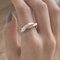 wave matte ring