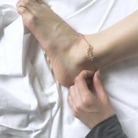 Order Name Anklet