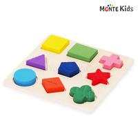 【MONTE Kids】MK-013  図形パズル A