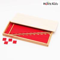 【MONTE Kids】MK-023  赤い棒ミニ 2セット