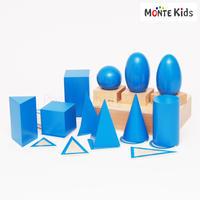 【MONTE Kids】MK-049   幾何学立体 トレー付き