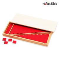 【MONTE Kids】MK-023  赤い棒ミニ 2セット ≪OUTLET≫