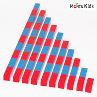 【MONTE Kids】MK-032  算数棒  大 教材用 ≪OUTLET≫