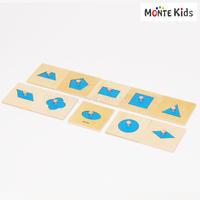 【MONTE Kids】MK-007  幾何学パズル ミニサイズ  ≪OUTLET≫