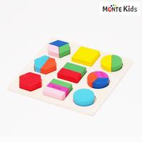 【MONTE Kids】MK-014  図形パズル B  ≪OUTLET≫