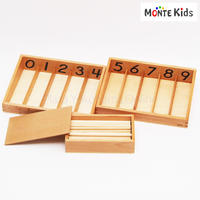 【MONTE Kids】MK-045   45本の棒と箱 大 教材用  ≪OUTLET≫
