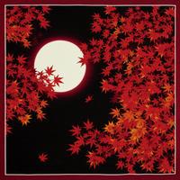 日本の四季 ふろしき【中巾】日本の秋