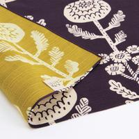 京の両面おもてなし ふろしき【三巾】菊<濃紫-こきむらさき>
