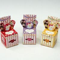 6cmキューブ型「ハピポピ HappyDay」【3個1セット】