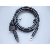 [PDC-12V-5525] USB Type-C PD  トリガーケーブル DC12V タブレット用充電ケーブル 1.8m (プラグ径:5.5mm/2.5mm)