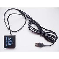 [QC-DCC11] DC カプラー + USB電源ケーブル Type-A QCトリガーケーブル バッテリー Panasonic製対応