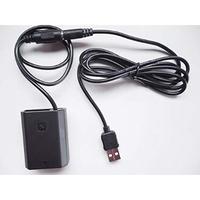 [QC-FZ100] DC カプラー + USB電源ケーブル Type-A QCトリガーケーブル バッテリー SONY製対応