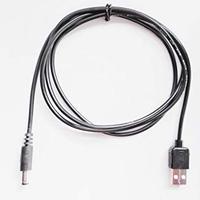 [QC6.0-5521] USB電源ケーブル Type-A  <QC3.0 DCケーブル> 急速充電器用 DC プラグ 線長1.2m (DC6.0V サイズ:5.5mm×2.1mm)