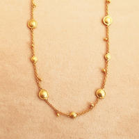 Shinti Plate rhythm  { Necklace } K18