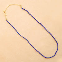 Simple Stone  { Necklace }  lapis lazuli