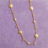 Shanti Plate rhythm  { Necklace } K18