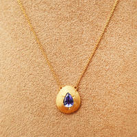 Cleopatra  { Necklace }  tanzanite. K18