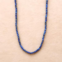 Simple Stone  { Necklace }   lapislazuli