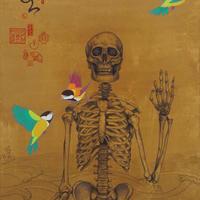 田中 武 [ 主人公は死なない(鳥)、117x55cm]