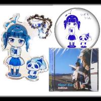 出雲雨藍生誕祭2019限定缶バッジ+キーホルダー&新譜CD
