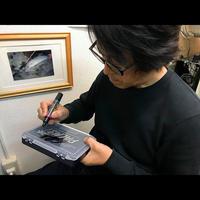 「のりこえよう!」飯田重祐 サイン入り パームスルアーケース3010P1
