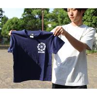 (キッズ用)Designed by PALMGRAFFI 風車Palms ロゴ 5.6oz Tシャツ