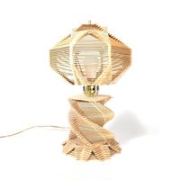 Popsicle Stick Table Lamp