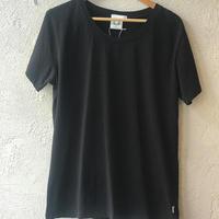 100%オーガニックコットン Tシャツ(ブラック)
