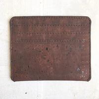 Aasha カードケース~Brown~ コルク製