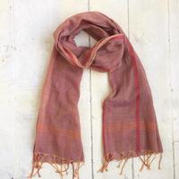 手織りオーガニックコットン ストール(100%オーガニックコットン)