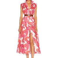 zimmermann ジマーマン Peggy paisley print dressワンピース 定価$1136