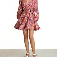 zimmermann ジマーマン Fiesta Wrap Short Dress  ワンピース 定価$550