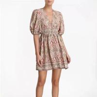 zimmermann ジマーマン  Freja Shirred Waist Dress  ワンピース 定価$595