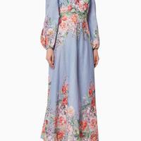 zimmermann ジマーマン Bellitude Floral Long Dressワンピース 定価$650