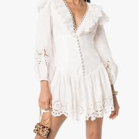 zimmermann ジマーマン Bellitude scalloped lace mini dressワンピース 定価$795