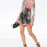 zimmermann ジマーマン  Bellitude floral-print playsuitスーツ 定価$695