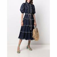 zimmermann ジマーマン   ALIANE SCALLOP FRILL DRESS ワンピース 定価$950