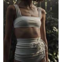 Zimmermann ジマーマン Corsage Linear bikini定価$395