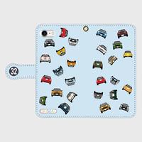 MINI-全員集合 手帳型スマホケース