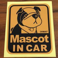 MINI(ミニクーパー)Mascot IN CAR ステッカー