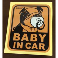 MINI(ミニクーパー マスコット)BABY IN CARステッカー