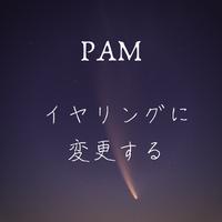 PAM『イヤリングに変更する』