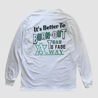 L/S TEE【BURN OUT】