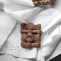 山葡萄のブローチ/ 小さめ /ozbro-137