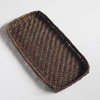 沢胡桃 ランチョンマット 網代編みの置き籠 40cm×21cm