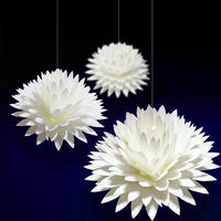 咲くようにひらく 花のメッセージカード 〈ダリア〉