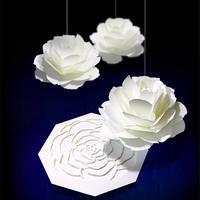 咲くようにひらく 花のメッセージカード〈ローズ〉