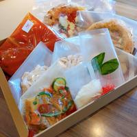 【2人前ディナーセット】ラグーソース/鶏のオーブン焼き