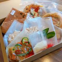 【2人前ディナーセット】ボロニェーゼ/鶏のオーブン焼き
